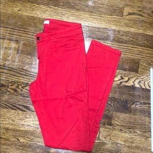 Red refuge super soft jeggings